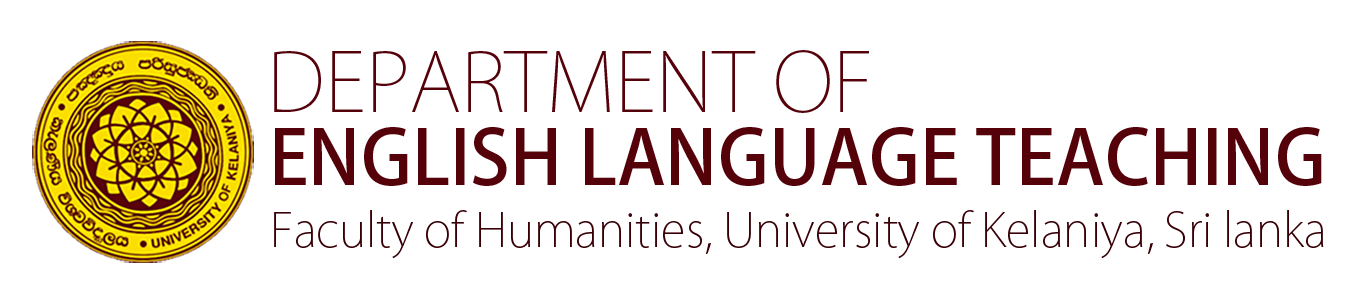 Depatrtment of English Language Teaching