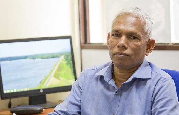 Professor K.B. Jayawardhane